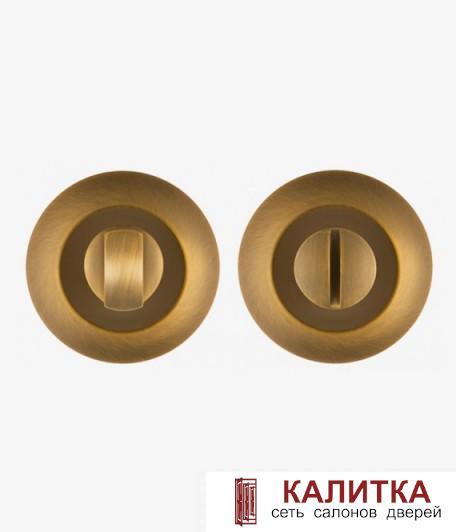 Завертка сантехническая PUNTO на круглом основании BK6 TL CF-17 матовый кофе
