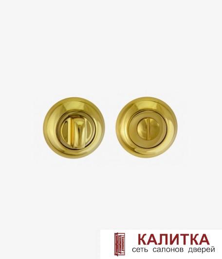 Завертка сантехническая RENZ на круглом основании BK 08 BIG DGP темное золото