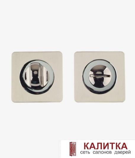 Завертка сантехническая  на квадратном основании BK 02-AL SN/CP (никель/хром) ! BK AL 02