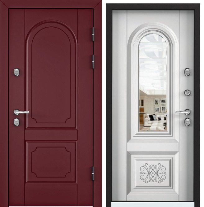 SNEGIR 45 PP RAL 3005 / Белый (арт. КТ Белый) OS45-03 RAL 3005 S45-03 Белый (арт. КТ Белый)